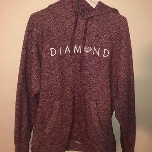 Diamond Supply Co. Hoodie Size Large